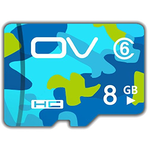 (MAUBHYA OV Camouflage Version Class 6 8GB Memory Card TF Card For Cell Phone)