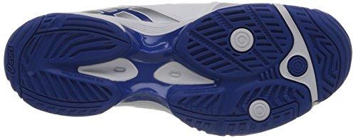 Asics Gel-solution Lyte 2 - Zapatillas de tenis Hombre Weiß (0142-White/Blue/Lightning)