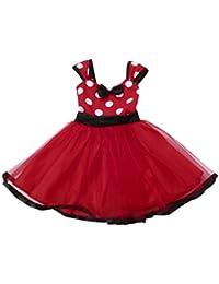 Toddler Little Girls Princess Dot Christmas Outfits...
