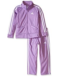 Adidas Girls' Basic Tricot Set