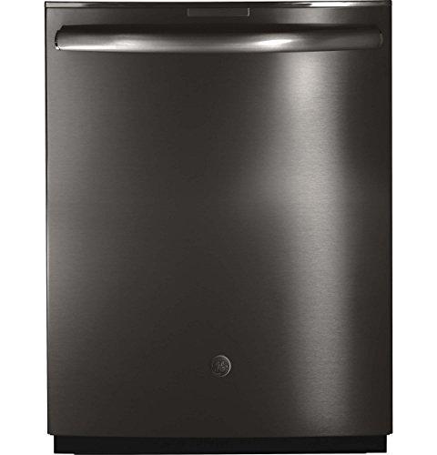 "GE Profile Series 24"" Built-In Dishwasher Black stainless steel PDT855SBLTS"