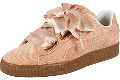 Rosa Corduroy Coral Basket Puma Heart Dusty Donna Sneaker qtwvEa0