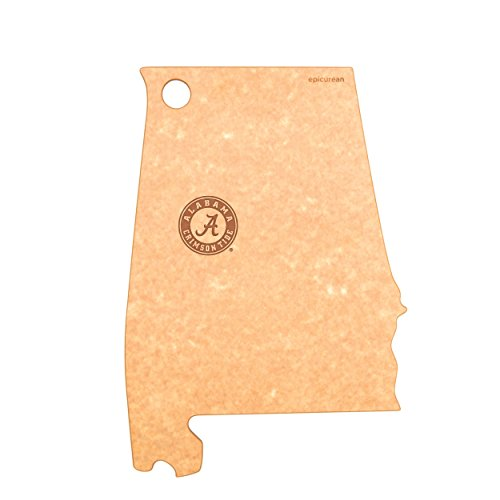 Epicurean C032-AL0102-UAL Alabama Crimson Tide Cheese Board, 15