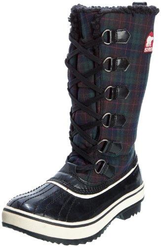 Sorel–Botas de invierno mujer Tivoli High nl1625 Negro - negro