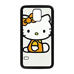 Happy Hello kitty Phone Case for samsung galaxy S5 Case
