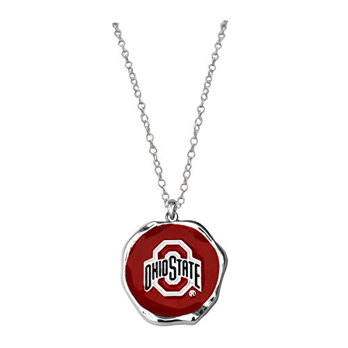 SANDOL Ohio State Buckeyes Logo Charm Necklace