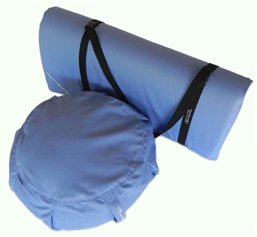 3-pc Yoga Studio Set in Light Blue by Peach Blossom Yoga