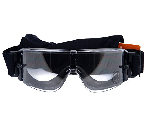 OFT FRAMELESS CLEAR SAFETY GOGGLES Googles Glasses Eye Wear ()