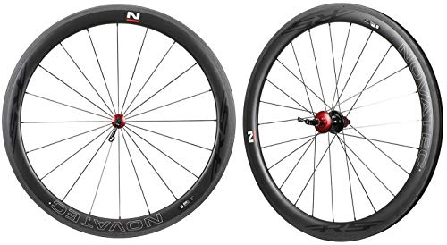 Nova NOVATEC Road R5 Clincher Carbon Wheelset for Shimano SRAM Campy 8-11s 50mm