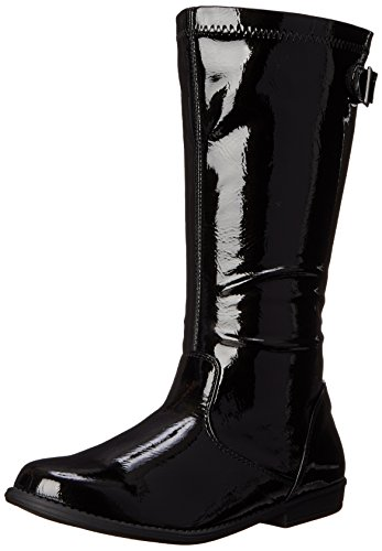 Kids Black Boots (Kenneth Cole REACTION Heart Treat Boot (Little Kid/Big Kid), Black Patent, 2.5 M US Little Kid)
