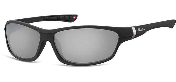 Montana - Gafas de sol - para niña negro matte black S ...
