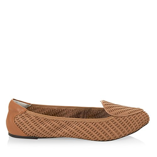 Beige Plegables Clapham Cuero Zapatos Ballerinas Cocorose Mujer qZHYO17x