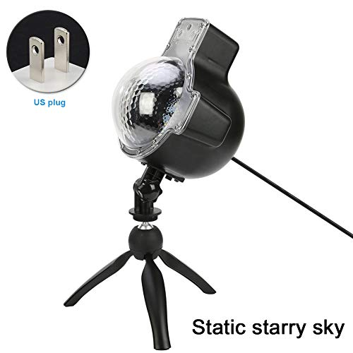 Yvonne Upgrade Dynamic Starry Sky & Snow Light Projector Light, IP65 Waterproof BL-TY08 Second Generation Red and Green Projector Christmas Festivals Home Yard Decor(EU Plug,Style 1) by Yvonne