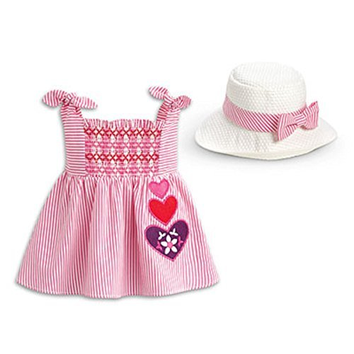 Little Baby Bitty Girl (American Girl Bitty Baby Little Hearts Set (Doll is not included))