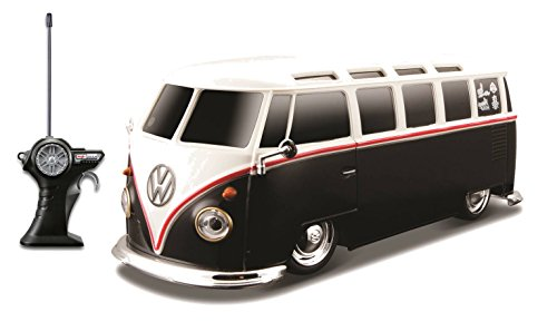 "Maisto R/C 1:24 Scale Volkswagen Van ""Samba"" Radio Control Vehicle (Colors May Vary)"
