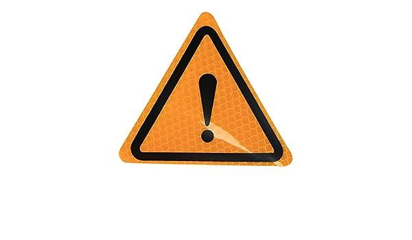 KKmoon Diamond Grade Pegatinas Adhesivos Reflectantes de Advertencia Impermeables para Autom/óviles
