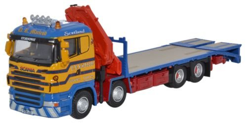 Scania Crane Lorry D R Macleod