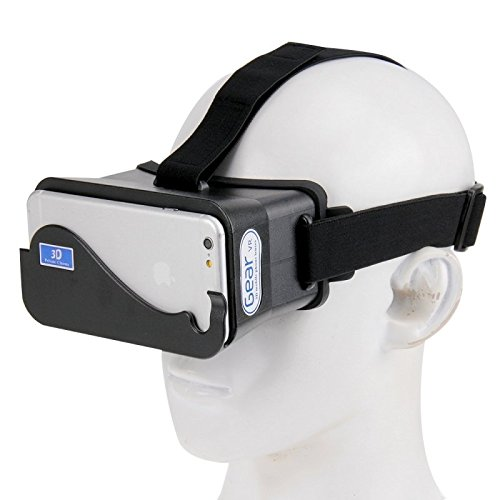 NJ-3D1688B DIY 3D Google Cardboard Glasses Virtual Reality for iPhone 6 & 6s / iPhone 6 & 6s Plus / Samsung Galaxy S6 / S5 etc. 4.3 inch - 5.5 inch Smartphone