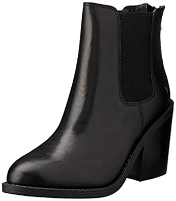 Windsor Smith Women's Mary Block Heel, Black, 10 AU