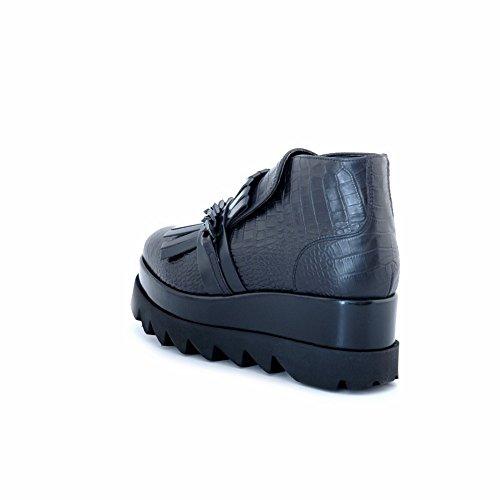 Cult Chaîne nbsp;cuir Cod Tank Femme Cle Frange Noire De Chaussures 102614 Sport 7xIFa7q