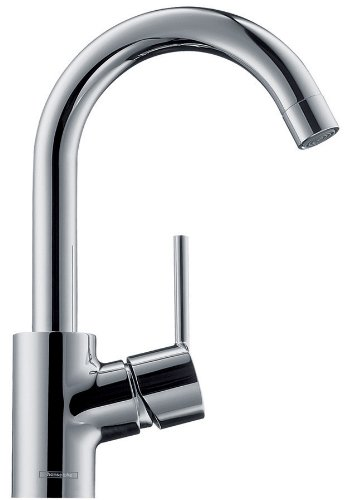 Buy Hansgrohe 32070001 Talis S High Swing Single-Hole Spout, Chrome ...