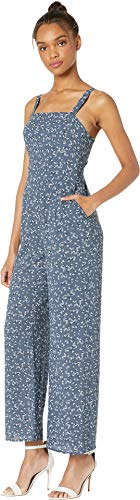 1.state womens cropped wide leg jumpsuit