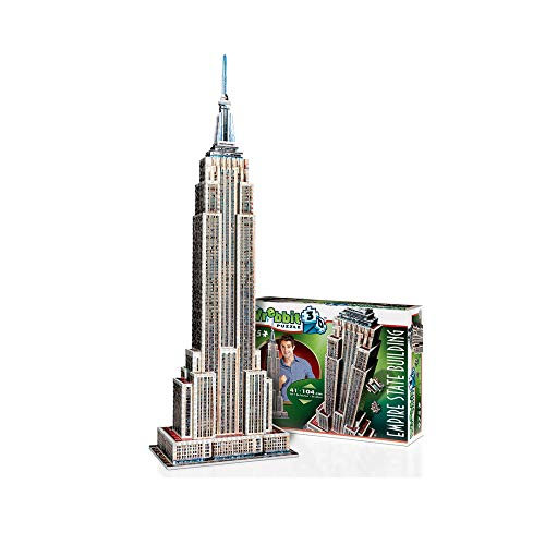 WREBBIT 3D Empire State Building 3D jigsaw puzzle (975-pieces)