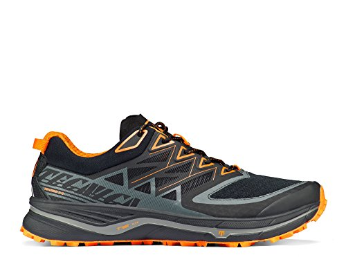 Tecnica - Zapatillas de running para hombre Negro negro Naranja