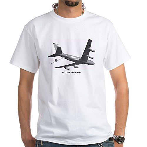 (CafePress KC-135 Stratotanker White T-Shirt - 100% Cotton T-Shirt, White)