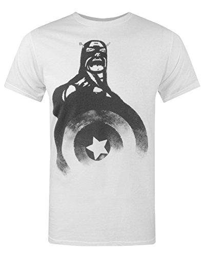Herren - Jack Of All Trades - Captain America - T-Shirt