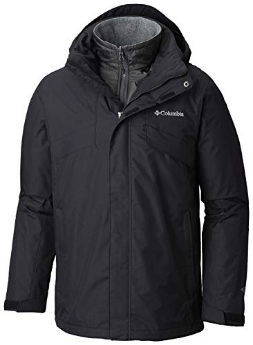Columbia Men's Bugaboo II Fleece Interchange Jacket, Waterproof and Breathable