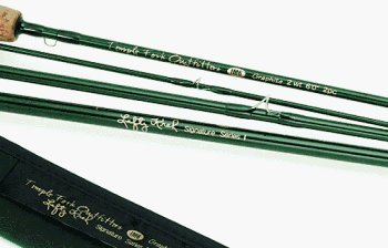 (Lefty Kreh Professional Fly Rod 10 foot 5 wt 4 pc Temple Fork )