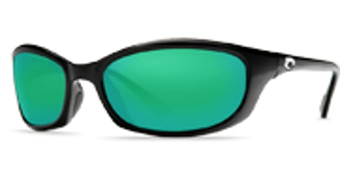 8291e44dc3 Amazon.com  Costa Del Mar Harpoon Black W  Green Mirror Polarized ...