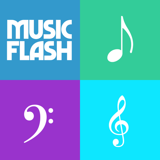 - Music Notes Flash Cards