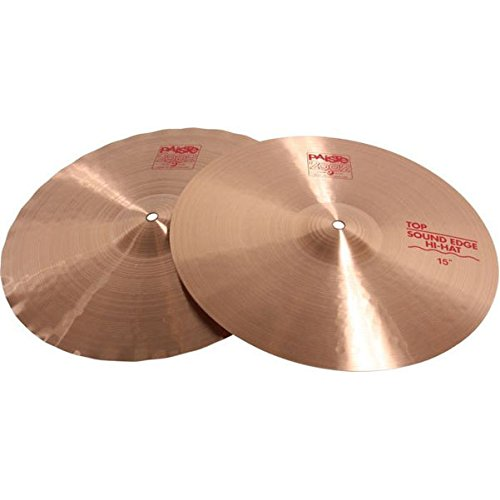 Paiste 2002 Classic Cymbal Sound Edge Pair Hi-Hat 15-inch