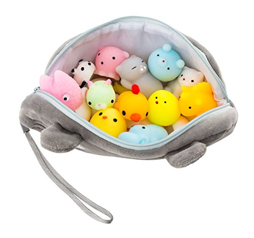 Mochi Squishy Toys 20 Pcs Pack Free Kawaii Cat Carrying Bag