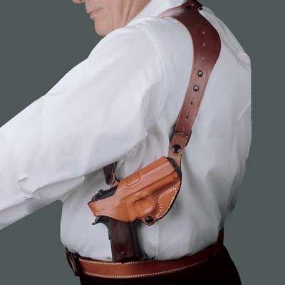 Desantis C.E.O. Shoulder Rig Holster fits Colt Government Model 45-Caliber, 1911, Right Hand, (Holster Colt 45 Commander)