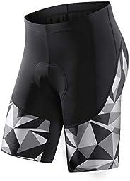 Santic Men's Loose-fit Mountain Bike Shorts Coolmax Lightweight Cycling MTB Sh