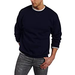 Russell Athletic Men's Big & Tall Long-Sleeve Fleece Sweatshirt