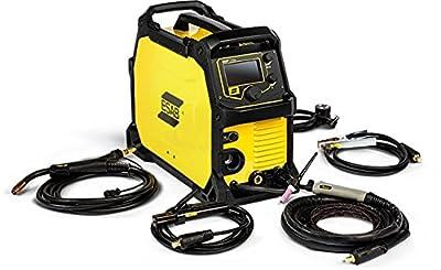 ESAB EMP215IC 120/230-Volt Dual Voltage Professional Grade MIG/TIG/Stick Welder
