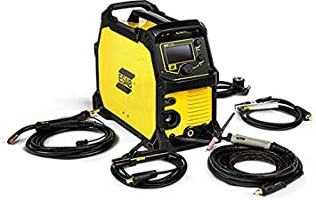 Esab Emp215ic 120 230 Volt Dual Voltage Professional Grade Mig Tig Stick Welder Amazon Com