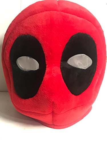 Maskimals Deadpool Plush Oversize Head Costume Marvel Halloween -
