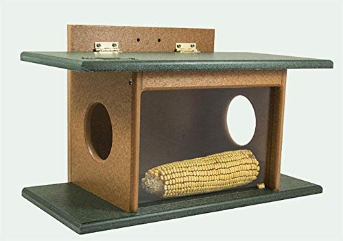 DutchCrafters Eco Friendly Squirrel House Feeder (Gray & Light Gray) by DutchCrafters (Image #3)