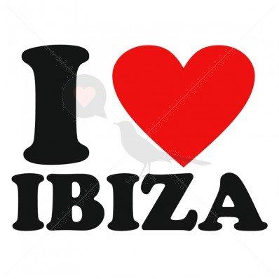 5 X I Love Ibiza Temporary Tattoo By Temptatz Amazonco