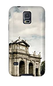 New AEEoaKj7711yCHnn Puerta De Alcal?? Skin Case Cover Shatterproof Case For Galaxy S5
