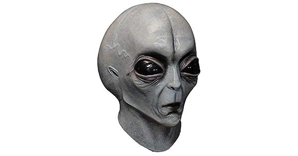 Amazon.com: Caretas Area 51 - Máscara para disfraz de ...