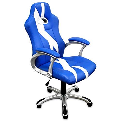 TRITON K51 Silla Gaming Chair ergonomica, Piel sintetica, M