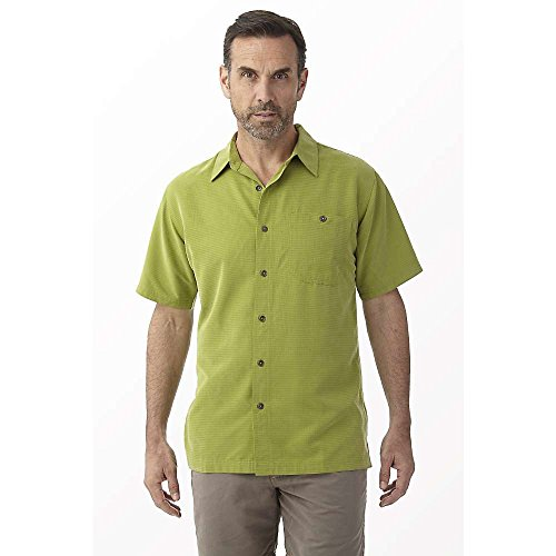 Royal Robbins Mojave Desert Pucker S/S Shirt - Men's Cactus Medium (S/s Desert Shirt Pucker)