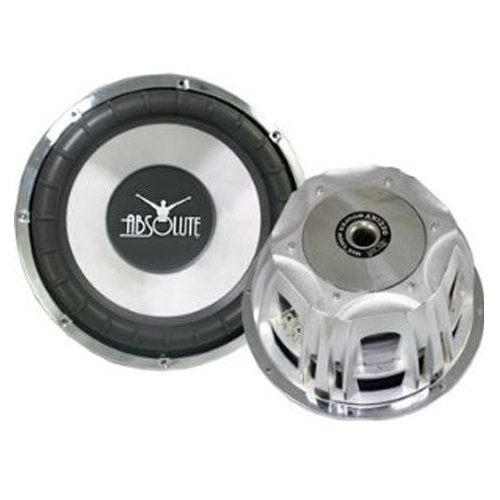 Absolute Axis Series AX1000 10-Inch 1000 Watts Maximum Power Subwoofer by Absolute