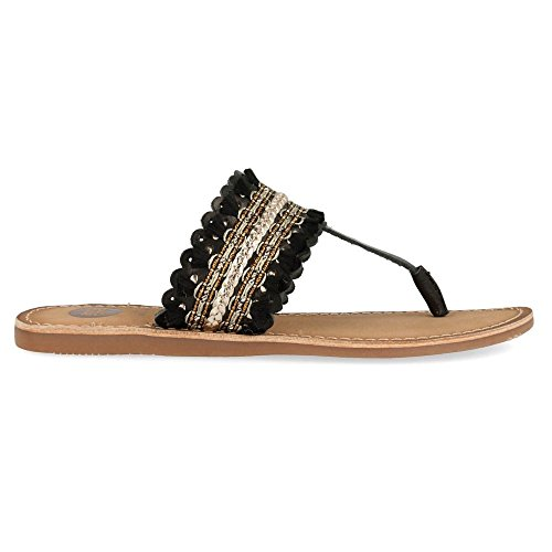Gioseppo Ethnic t-Bar Sandals Sayani by (40 - Black)